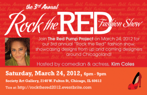 Get Your Red Pumps Ready, Chicago!