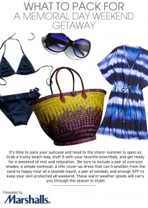 What To Pack for a Memorial Day Weekend Getaway