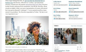 Afrobella in the New York Times