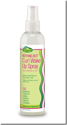 Nothing But Curl Wake Up Spray
