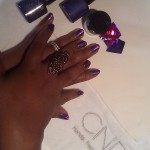 CND Shellac purple