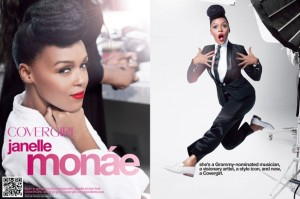 The Afrobella Interview. Janelle Monáe for Cover Girl!