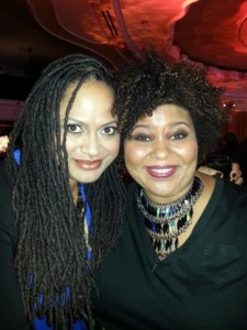 This is incredible award winning director Ava DuVernay and she is sweet as pie!