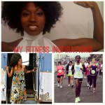 Top - Erika of A Black Girl's Guide to Weight Loss, bottom left Dr. Nina Ellis-Hervey, right Renisha James