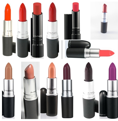 MAC lipsticks for women of color
