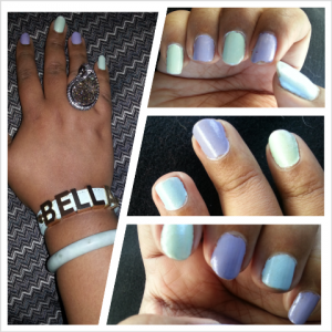 Monday Manicure. Spring! Pastel! Nails!