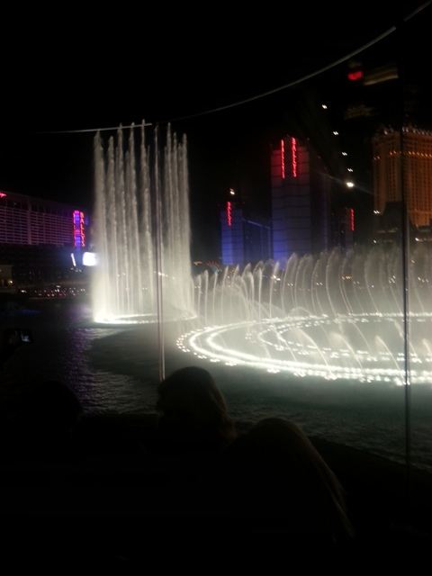 Bellagio Fountain Afrobella song Billie Jean Hyde Vegas MLife