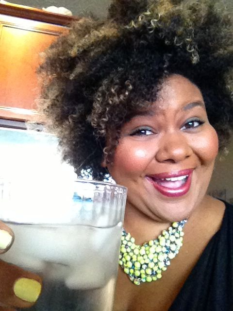 Cheers! Here's to healthy skin!