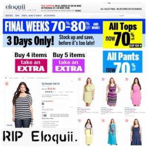 An Elegy For Eloquii – The Frustrating State Of Plus Size Fashion