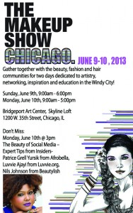 Come See Me At The Makeup Show Chicago!