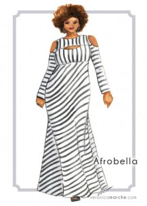 Afrobella illustration by VeronicaMarche Miller