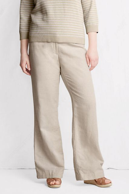 Olivia pope wide leg pants plus size