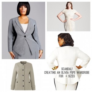 Scandal! Creating an Olivia Pope Wardrobe For Plus Size Gladiators