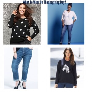 What To Wear On Thanksgiving Day? Comfortable Pants. Duh.