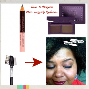How To Disguise Your Raggedy Eyebrows