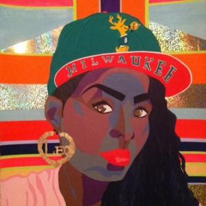 Afrobella Art – Tanekeya Word. Artist, Afrofuturist, Feminist, Visionary.