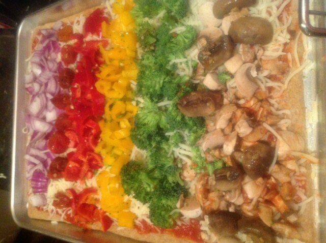Rainbow Pizza 2