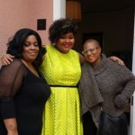 "With Nicole Evans MUA and Felicia Leatherwood, AKA ""The Hair Whisperer"""