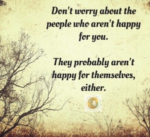 Last Week's Lesson – Find Your Own Happiness (& Stop Looking to Others For It)