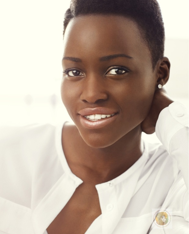 Lupita for Lancome! Her first official image, sent by Lancome PR