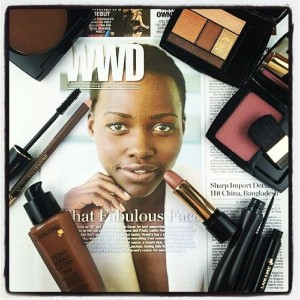 Lupita's Lancôme Look – The Products Used In Her Official First Photo!