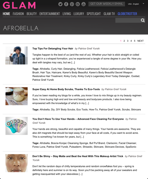 Afrobella on Glam.com!