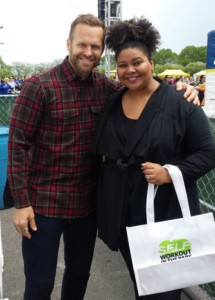 What I Learned About Fitness From The Biggest Loser's Bob Harper at SELF Magazine's Workout In the Park