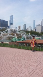 Chicago's famous Buckingham Fountain!