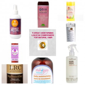 Spritz Your Natural Hair With This! 9 Great Moisturizing Leave-In Conditioners for Black Hair!