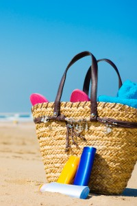 Sunscreen photo via Shutterstock