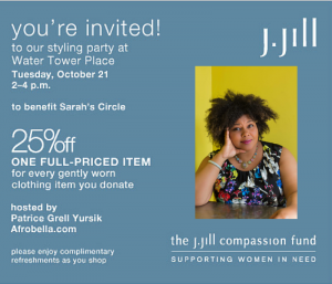 You're Invited to My J. Jill Compassion Fund Styling Event for Sarah's Circle!