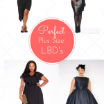 Plus Size Little Black Dresses