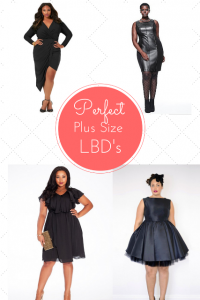 Perfect Plus Size Little Black Dresses We Need ASAP