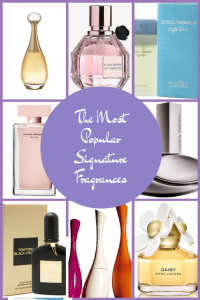 The Most Popular Signature Fragrances. What's Your Favorite?