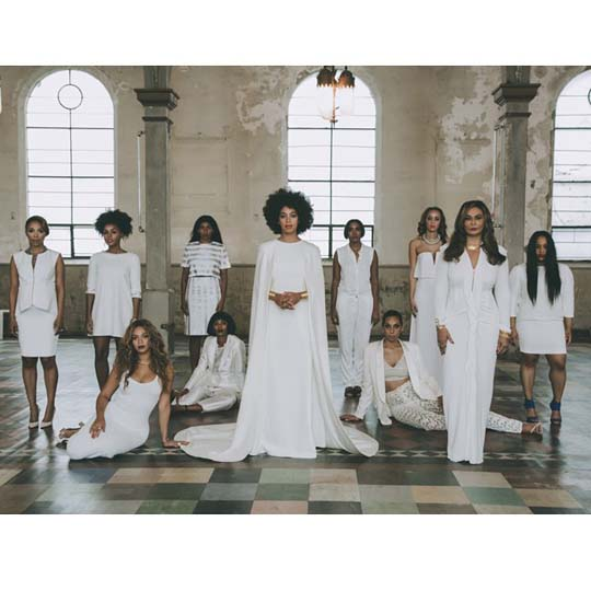 Solange wedding group