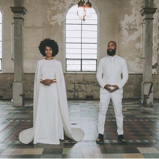 Solange wedding husband