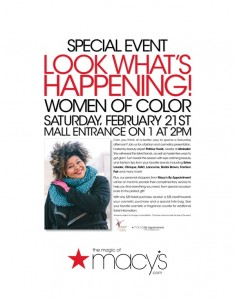 Meet Me at Macy's In Cherry Hill Mall This Saturday!