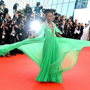 Lupita Nyong'o at Cannes 2015 – Get That Lip Look!