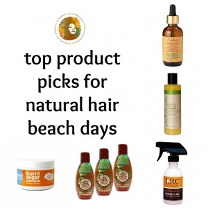 Natural Hair And Salt Water – How To Care For Your Hair At the Beach