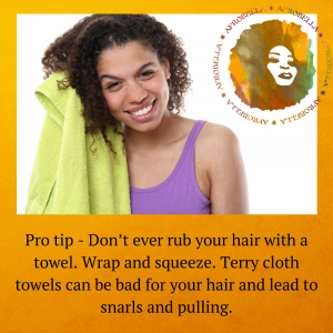 This Is The Way We Dry Our Hair – Natural Hair Drying Tips From a Pro