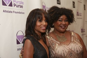 Purses and Charms and Kerry Washington! Inside The Purple Purse Experience