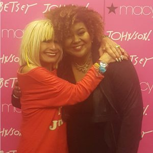 Meeting  Betsey Johnson