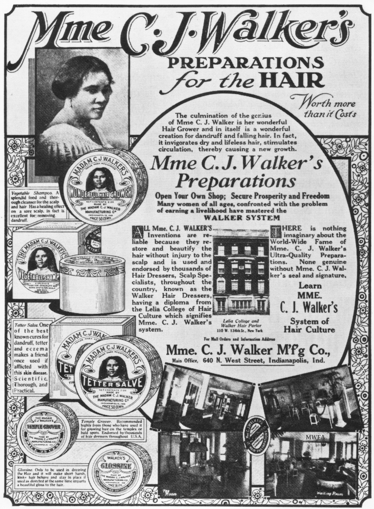 Madam C J Walker Beauty Culture An Intentional Tribute To The Original Hair Care Millionaire Afrobella