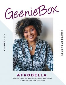 Afrobella for GeenieBox — I Curated a Beauty Box for Charity! Check It Out!