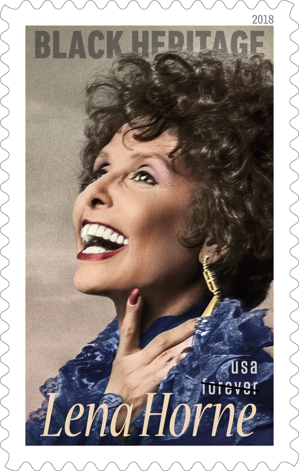 I Need The New Lena Horne Forever Stamp!