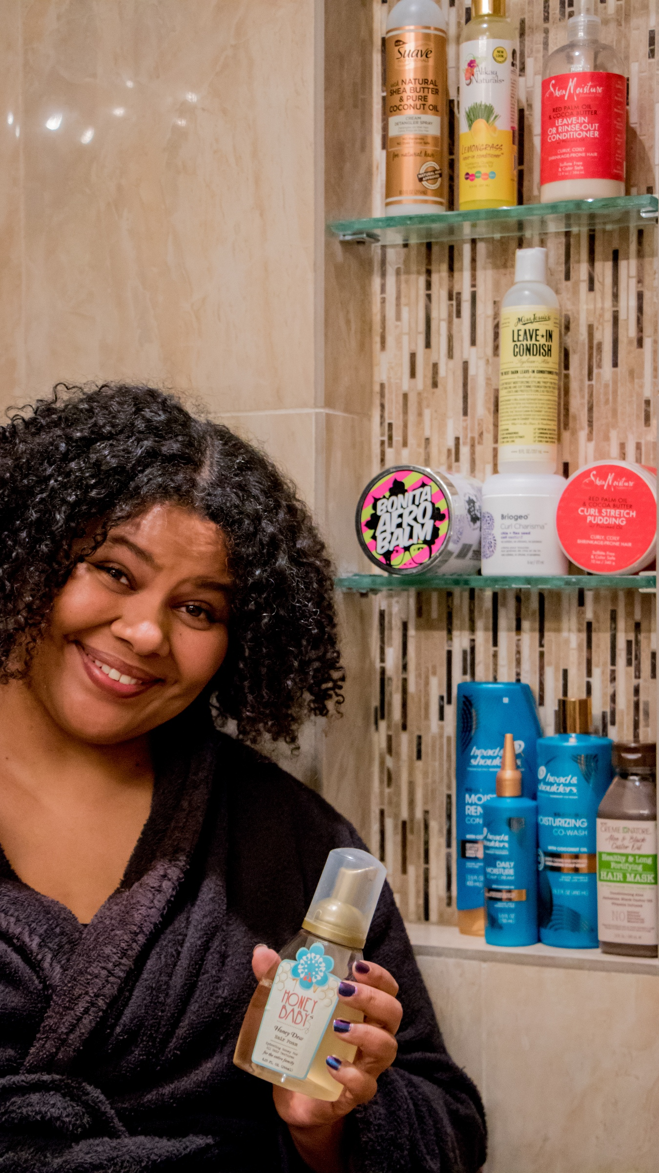 Fall to Winter Haircare – Everything I Need Is at Walmart's The Curl Shop!